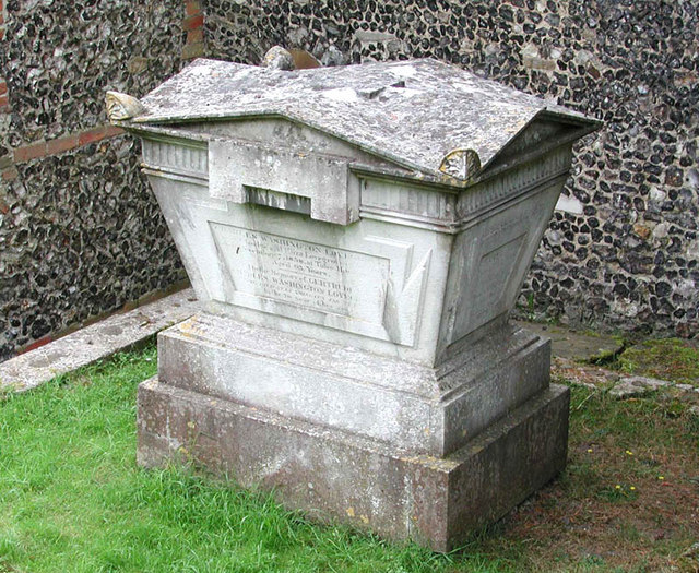 St Peter Caversham Berks - Tomb
