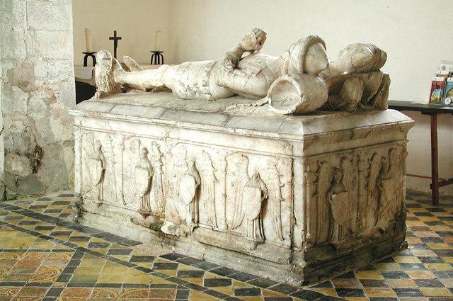 St Thomas, East Shefford. Berks - Tomb Chest