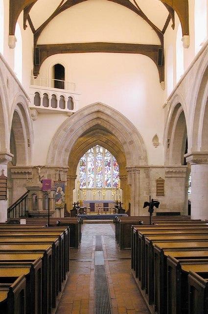 St Michael & All Angels, Lambourn, Berks - East end