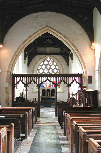 Holy Rood, Sparsholt, Berks - East end