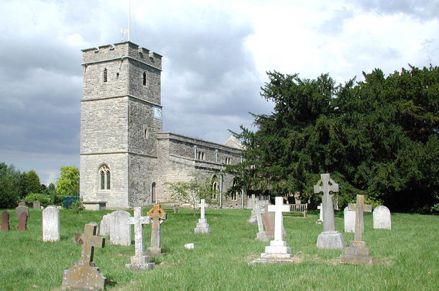 St Mary, Long Wittenham, Berks