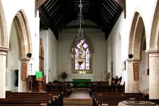 St Agatha, Brightwell-cum-Sotwell - East end