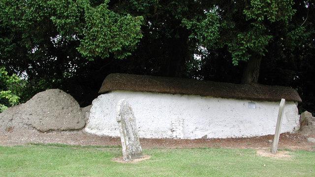 St Agatha, Brightwell-cum-Sotwell - Churchyard wall