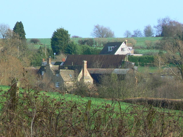 The hamlet of Hampton, Highworth near Swindon