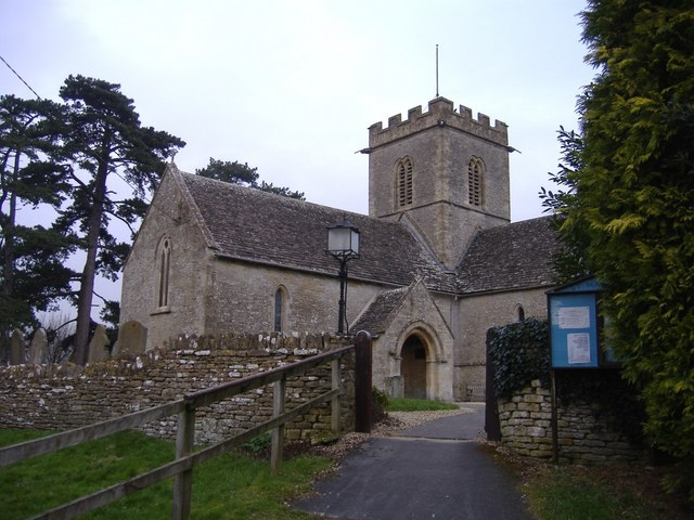 Entrance gate, St.Mary's, Meysey Hampton