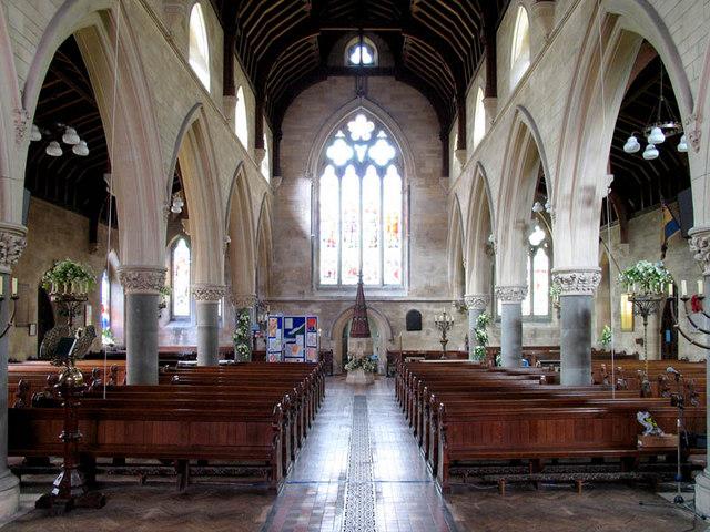 St Mary, Stratfield Mortimer, Berks - West end