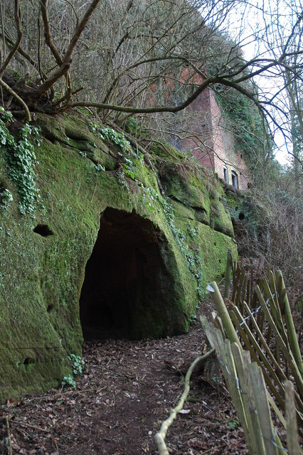 Cave and abandoned dwelling, Kinver Edge