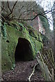 SO8282 : Cave and abandoned dwelling, Kinver Edge by Philip Halling