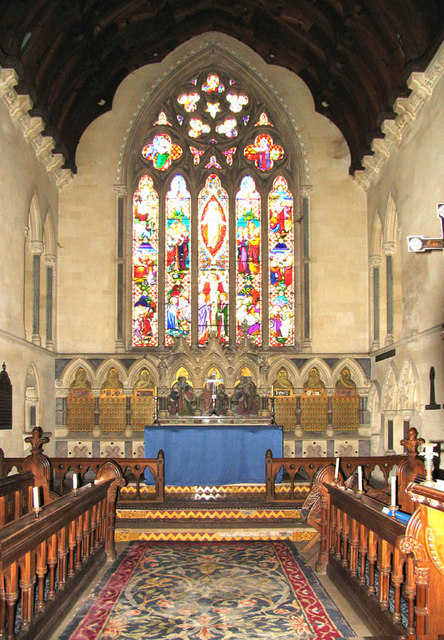 St Mary, Stratfield Mortimer, Berks - Chancel