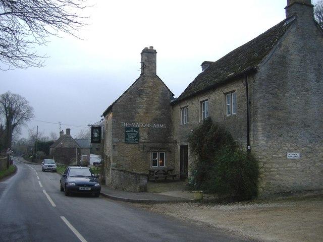 The Masons Arms, Meysey Hampton