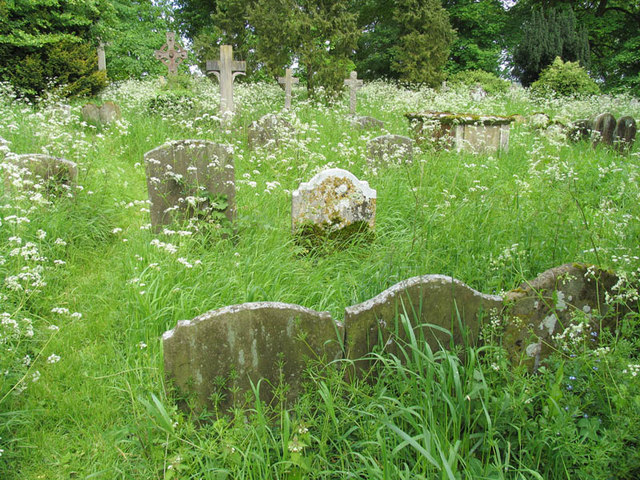 All Saints, Swallowfield, Berks - Churchyard
