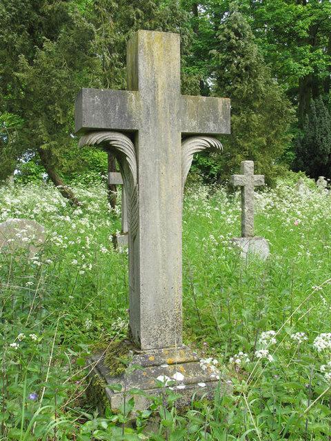 All Saints, Swallowfield, Berks - Churchyard