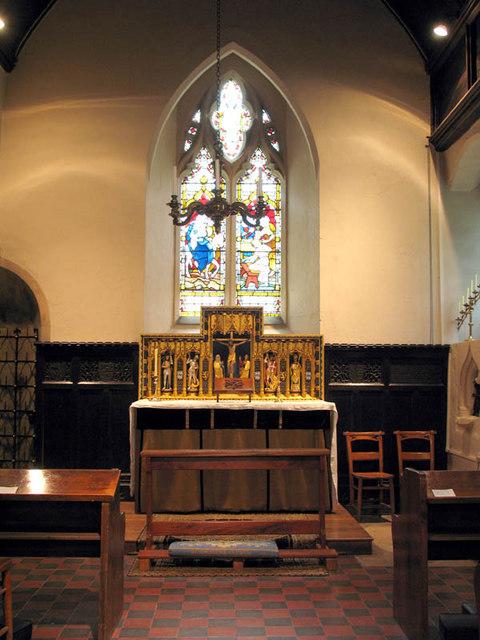St Andrew, Clewer, Berks - Chapel