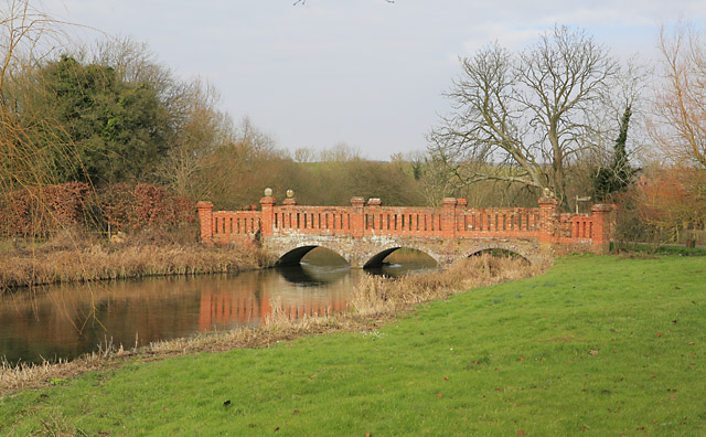 The bridge at Bere Mill