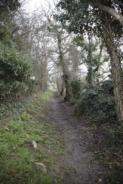 Footpath, Great Gransden, Cambridgeshire