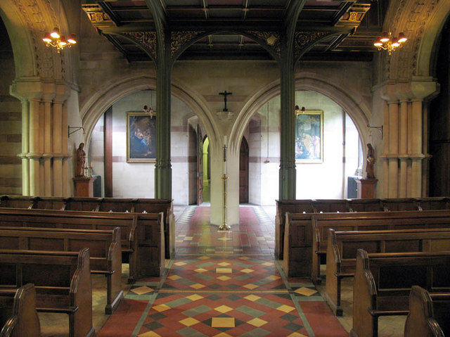 The Most Holy Trinity, Ascot Priory, Berks - Narthex