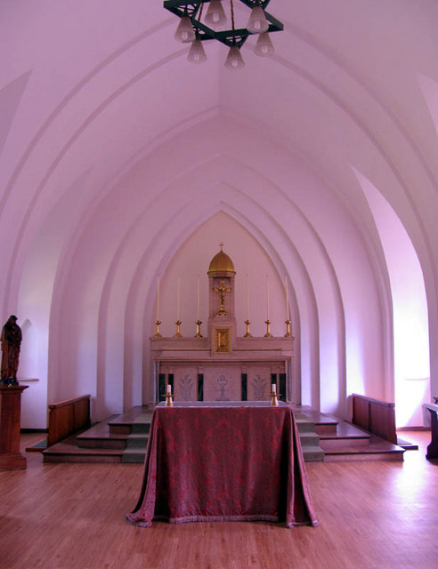 The Most Holy Trinity, Ascot Priory, Berks - Chapel