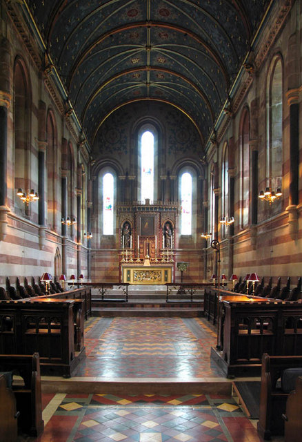 The Most Holy Trinity, Ascot Priory, Berks - Chancel