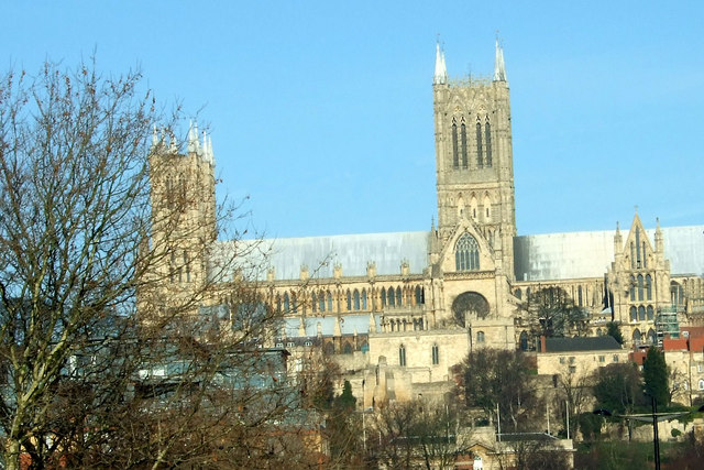 Lincoln Cathedral in February