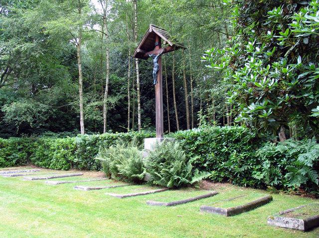 The Most Holy Trinity, Ascot Priory, Berks - Nuns Cemetery