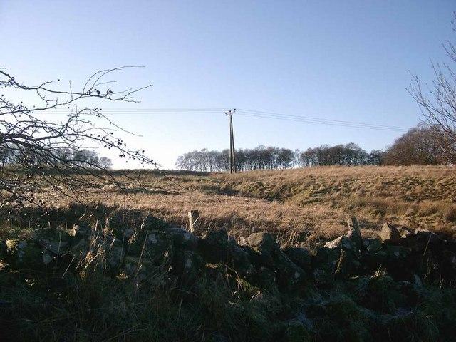 Northern slopes of Glaisnock Moss
