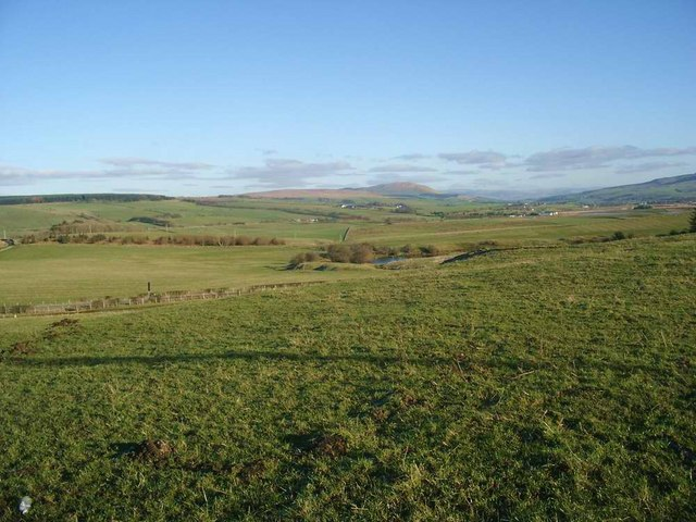 Looking east from White Knowe