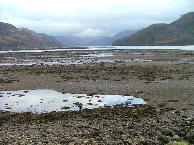 Looking Down Loch Duich
