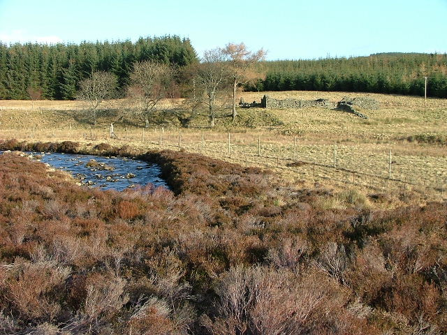 Ruin by The Cochill Burn