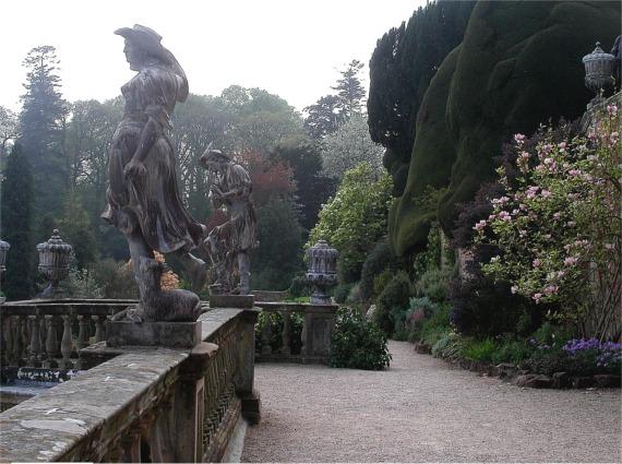Terrace walk, Powis castle