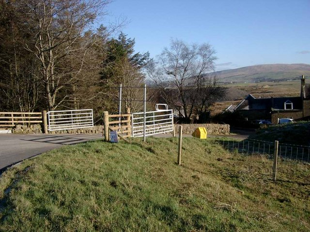 New road junction for Auchincross farm