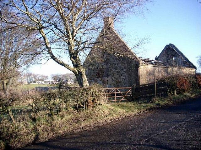 Ruin at Dalricket Mill