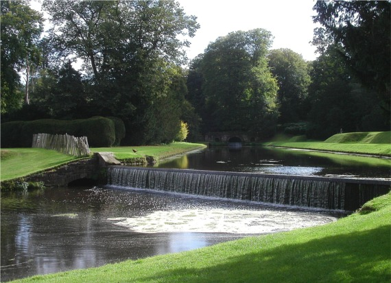 Weir in Studley Royal Gardens
