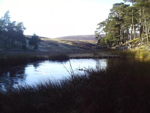 Lochan in the Baddinsgill Burn