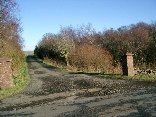 Entrance to Little Creoch