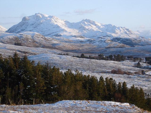 Beinn Airigh Charr from the viewpoint