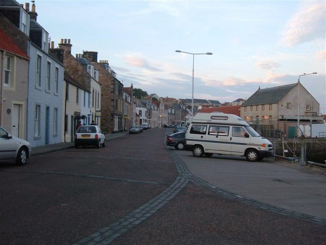 Pittenweem Harbour Street