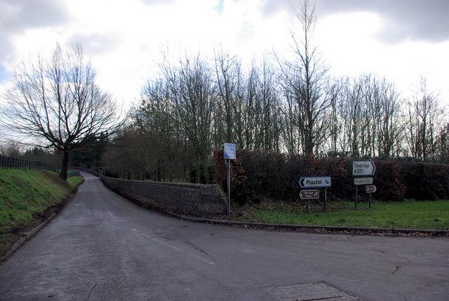 Lane to Plaxtol