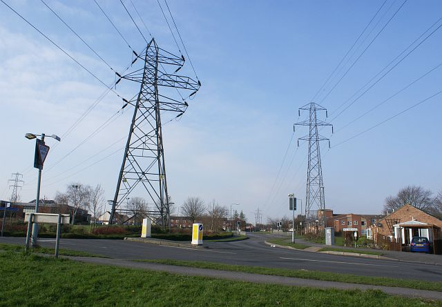 Pylons part company, Sinfin