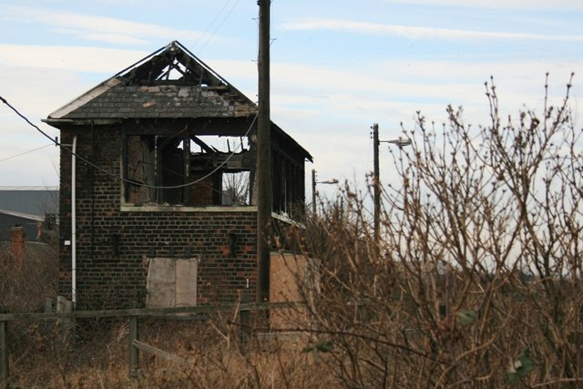 Derelict Signal Box, Port Clarence