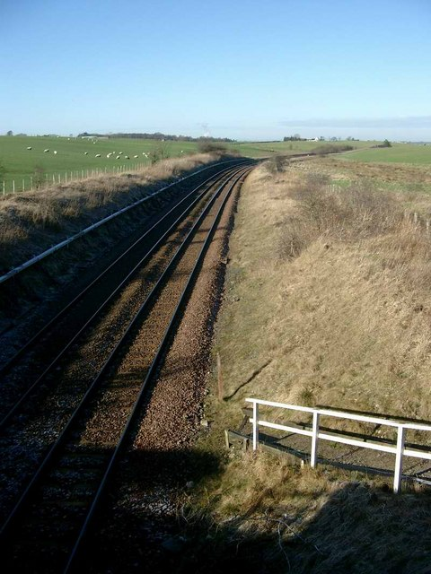 Kilmarnock - Dumfries main line