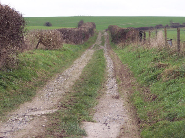 Byway over Hunts Down to the Harewarren