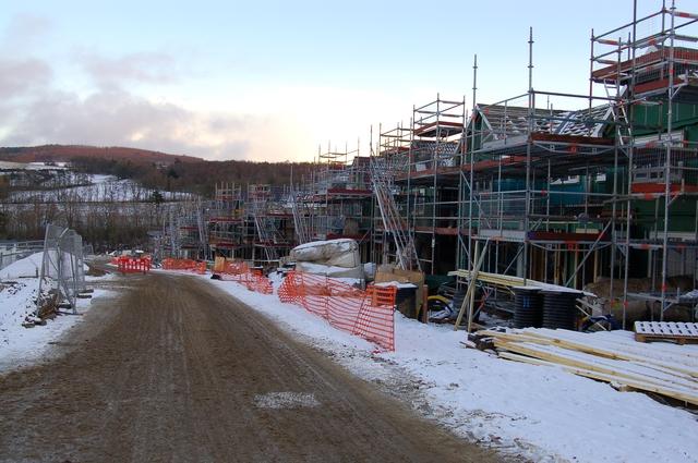 Barratt housing development