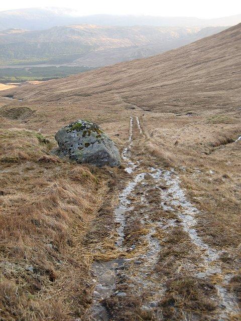 Pony path,  Allt Ghabhar
