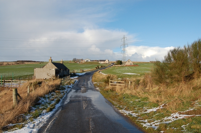 Towards Westside Farm