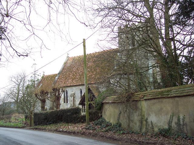 St Mary's Church, Odstock
