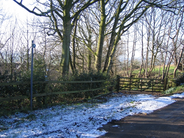 Footpath and Gate Entrance