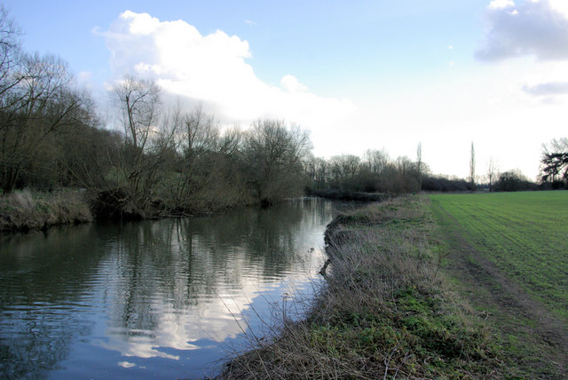 River Medway near Nettlestead Place