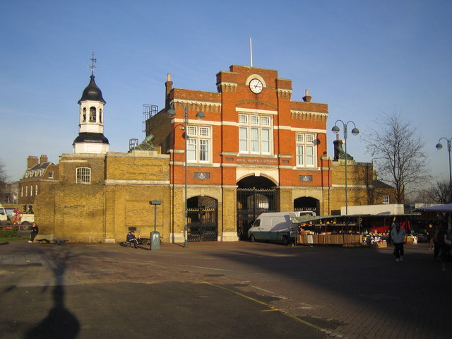 Woolwich: The Royal Arsenal Gatehouse
