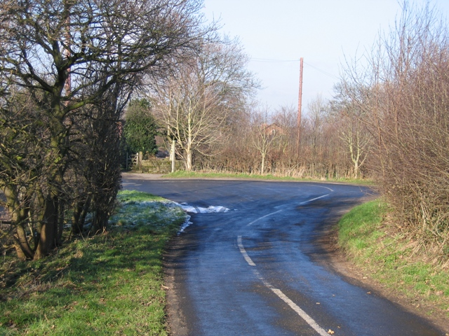 Hairpin Bend at Lowerhall Farm