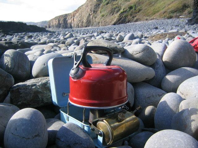 Optimus 111 on Telpyn beach